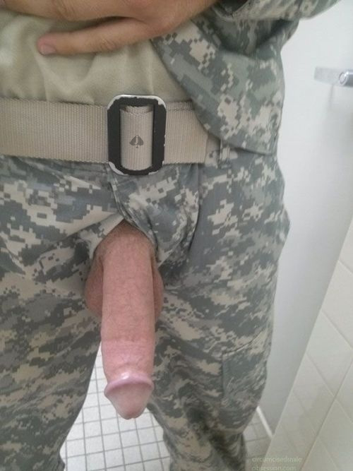 army gay hard penis