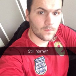 Man With SnapChat Showing A Soft Cock