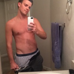 Sexy Boy With SnapChat Stripping And Sending Cock Pictures