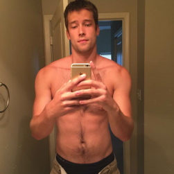 Handsome Man Taking Nude Self Pictures