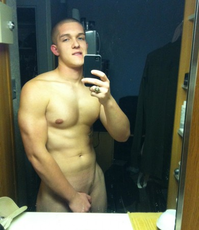 Sexy Muscle Boy With A Smooth Body