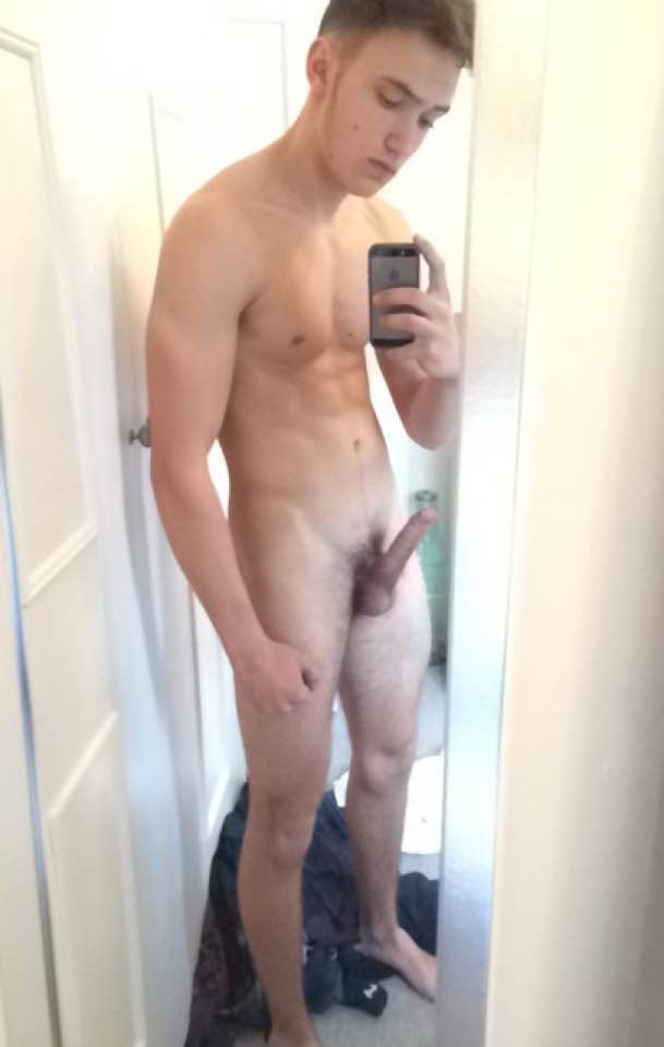 Nude Boy With Erection