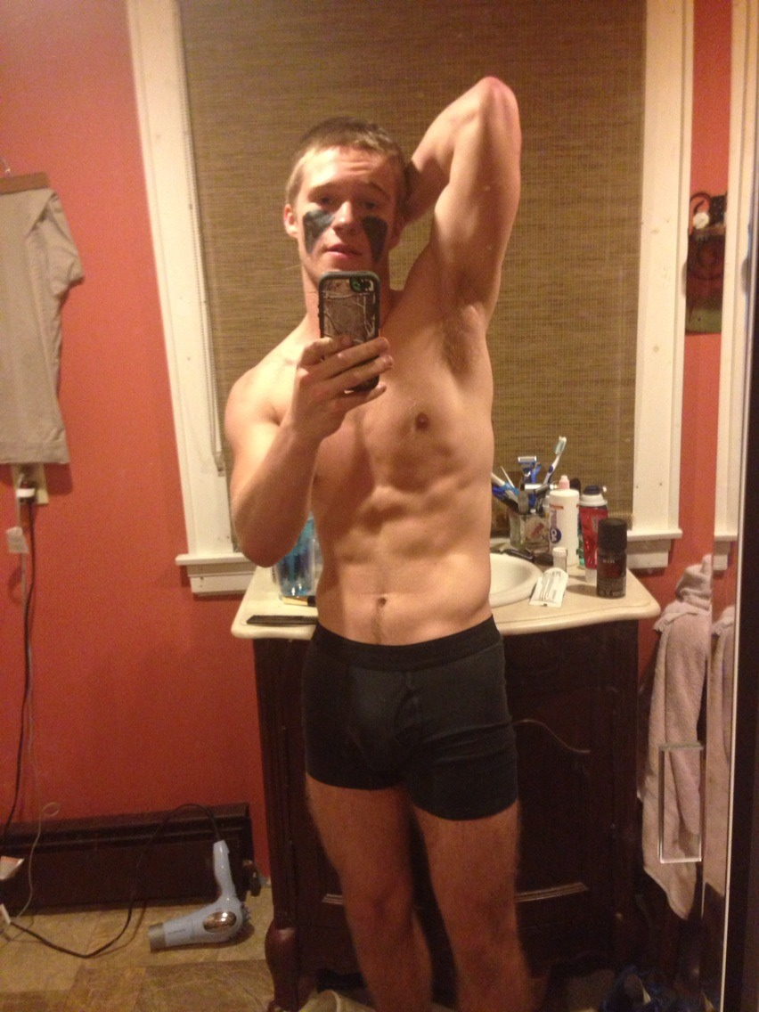 Muscle Teen Boy With A Very Big Cock - Nude Amateur Guys-1386