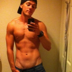Fit Muscle Boy Take Pictures Of His Cock