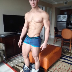 Sexy Muscle Boy With A Perfect Body
