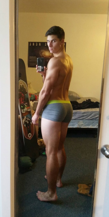 Hot Muscle Ass
