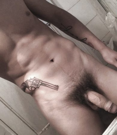 Big soft hairy cock