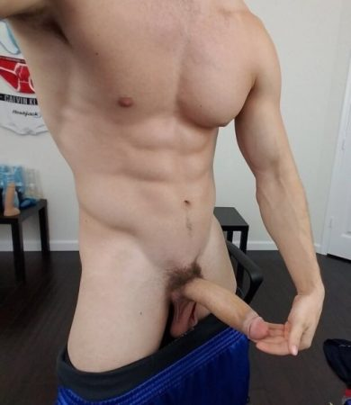 Hunk with a big cock