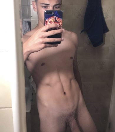Naked boy big penis
